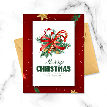 pngtree free download pngtree-exquisite-christmas-greeting-card-image89