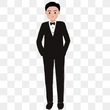 pngtree-cartoon-groom-wearing-a-suit-image free download 58