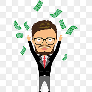 pngtree-happy-businessman-vector-get-money-a-lot-png-image free download 94
