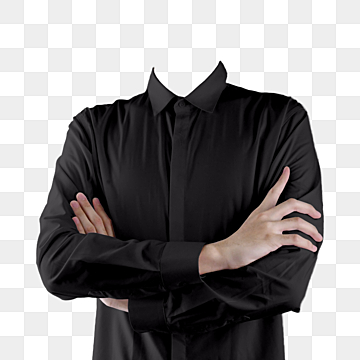 pngtree-suit-black-shirt-chest-fork-hand-png-image free download 143