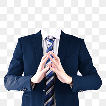 pngtree-suit-blue-suit-tie-thinking-png-image free download 146