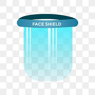 pngtree medical plastic face shield to reduce spread corona virus covid png image
