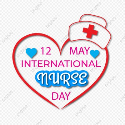 International Nurses Day With Heart Design Free Vector And Png pngtree free download
